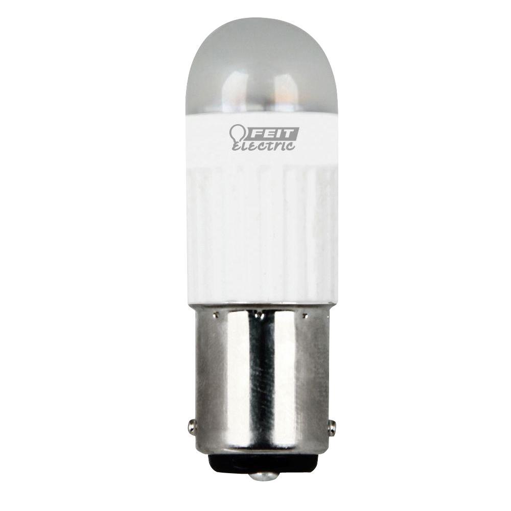 20W Equivalent Warm White Capsule LED BA15d Base Light Bulb (Case of 6)