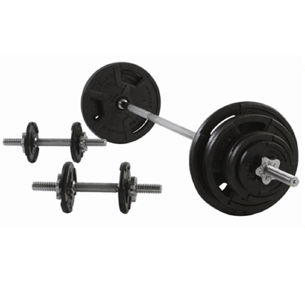 Weider 160 lb. Spin-Lock Weight Set