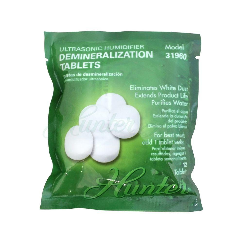 Hunter Ultrasonic Humidifier Demineralization Tablets (12-Pack)