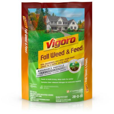 15.78 lb. 5,000 sq. ft. Fall Weed and Feed Lawn Fertilizer