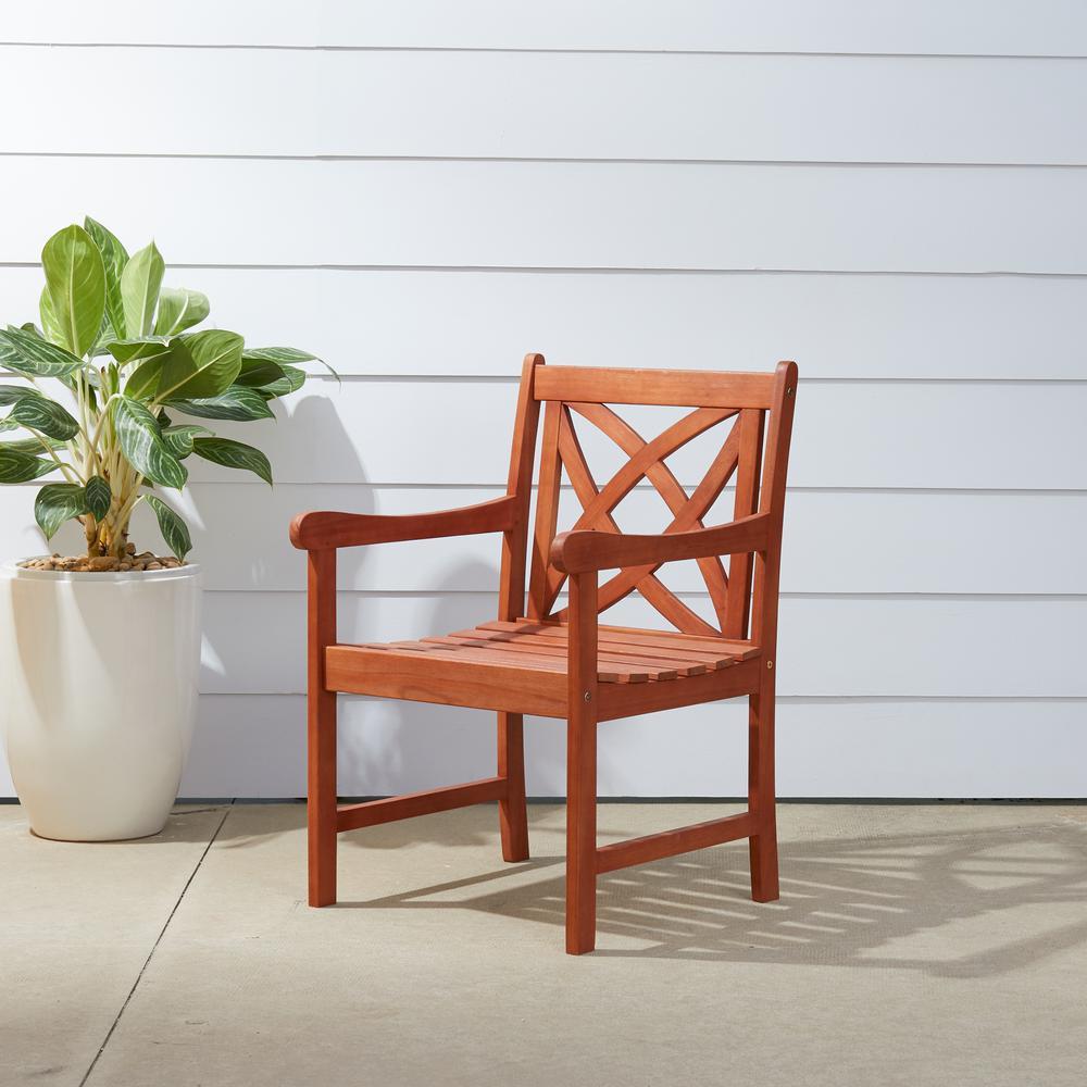 Malibu Wood Outdoor Dining Chair