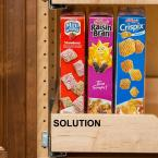 Century Components 5-Shelf 58 in. L x 2-1/2 in. W Maple Pilaster Kit for Pantry Cabinet Adjustable Roll-Out Drawers