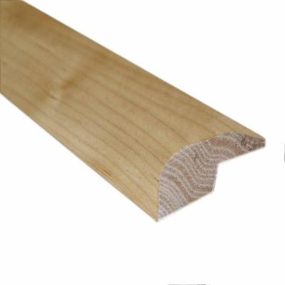 Unfinished Maple 3/4 in. Thick x 2 in. Wide x 78 in. Length Hardwood Carpet Reducer/Baby Threshold Molding