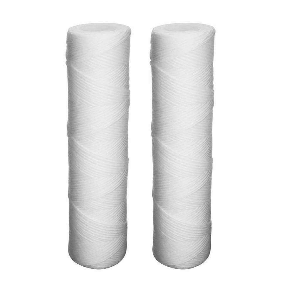 HDX Universal Fit String Wound Whole House Water Filter (2-Pack)