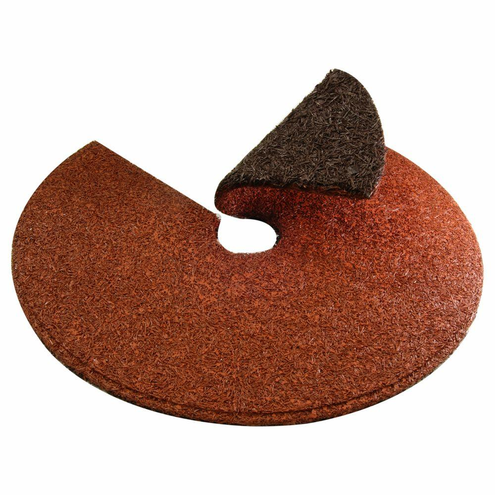 Vigoro 24 in. Red/Brown Dual Color Tree Ring
