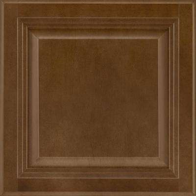 13x12-7/8 in. Cabinet Door Sample in Portland Maple Truffle