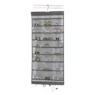24-Compartment Jewelry Hanging Organizer