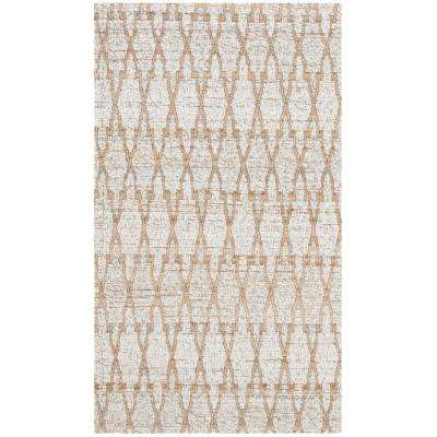 Cape Cod Silver/Natural 3 ft. x 5 ft. Area Rug