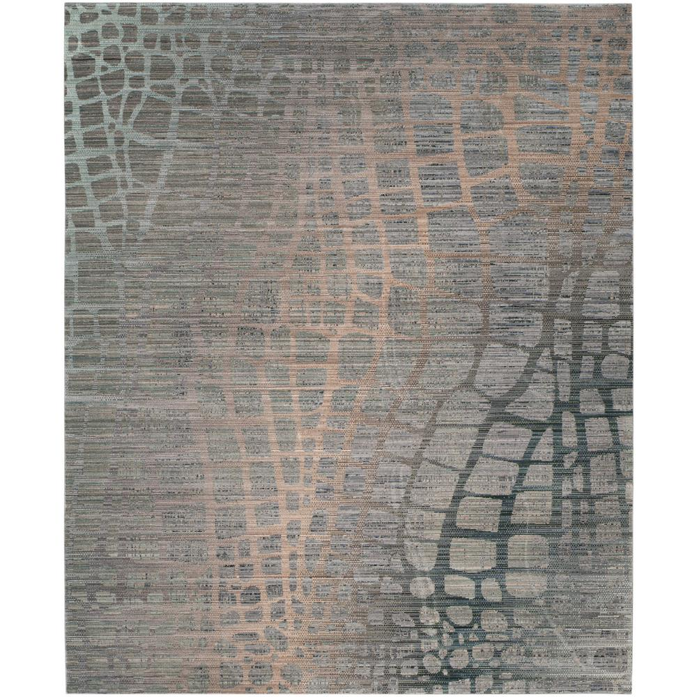 Safavieh Valencia Gray Multi 9 Ft X 12 Ft Area Rug