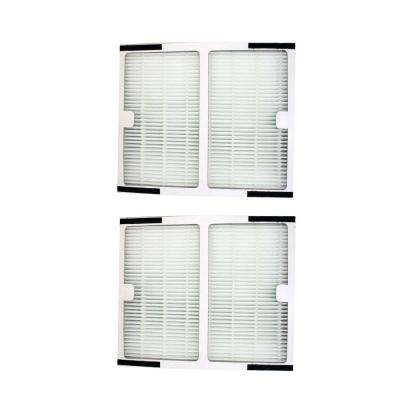 Replacement Idylis B Air Purifier Filters IAF-H-100B, Fits IAP-10-125 and IAP-10-150 (2-Pack)