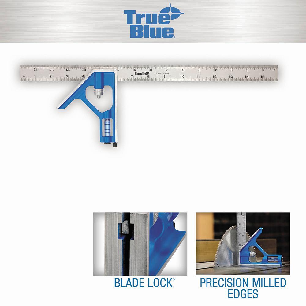 16 in. True Blue Combination Square