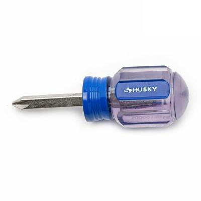#1 x 1-1/2 in. Square Shaft Stubby Phillips Screwdriver