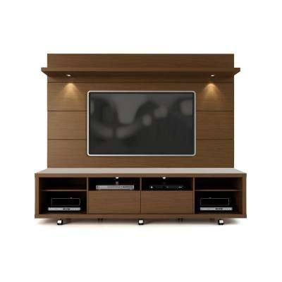 Cabrini Nut Brown Entertainment Center
