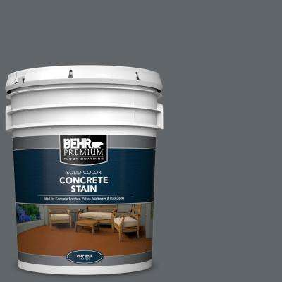 5 gal. #PFC-65 Flat Top Solid Color Flat Interior/Exterior Concrete Stain
