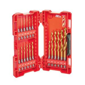 Milwaukee Shockwave Impact Duty Titanium Drill Bit Set (18-Piece) by Milwaukee