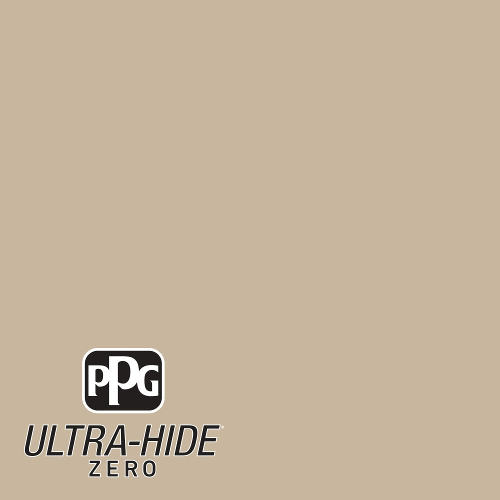 Ppg 1 Gal Hdpwn33u Ultra Hide Zero Traditional Tan Flat Interior Paint
