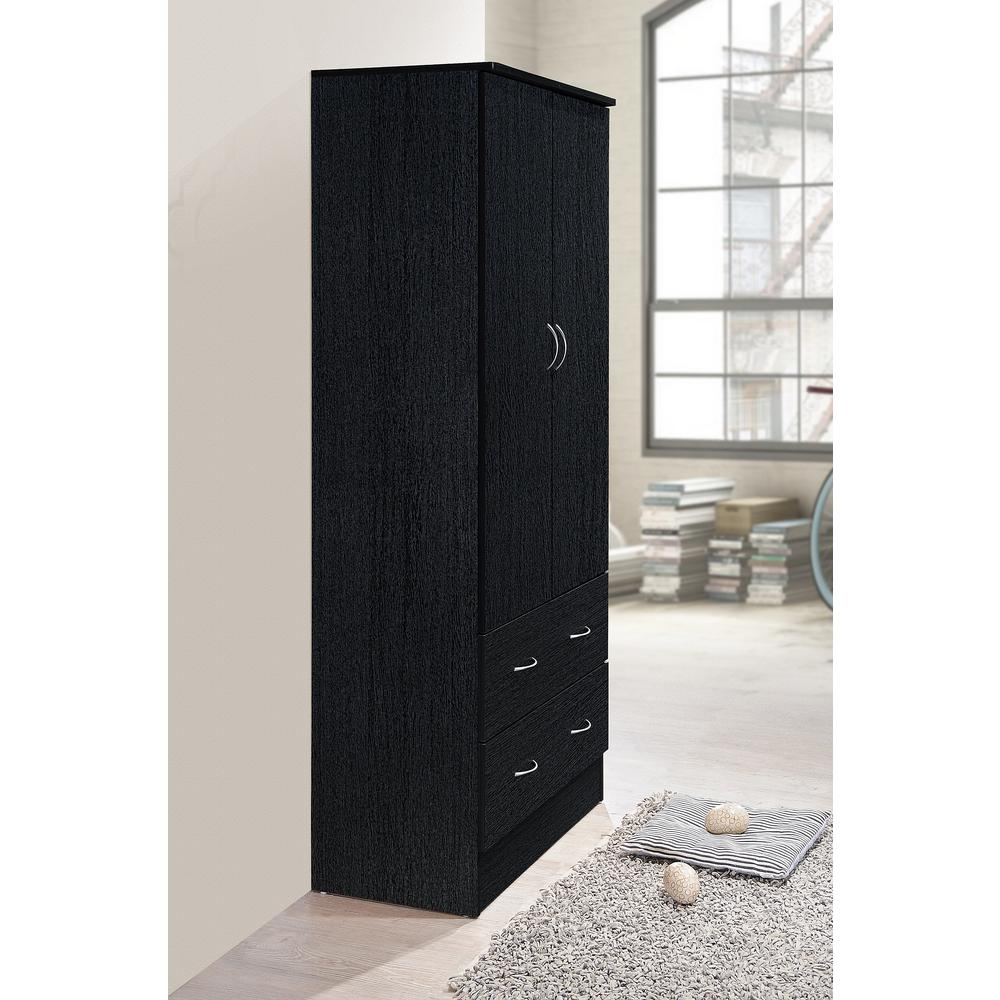 Cabinet Bedroom Furniture: TALL WARDROBE CLOSET Armoire Cabinet Bedroom Furniture