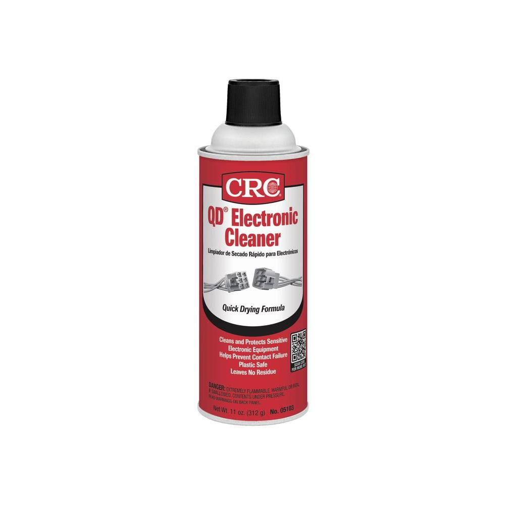 Crc 11 Oz Qd Electronic Cleaner 05103 The Home Depot