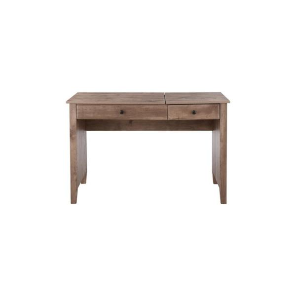 StyleWell Light Ash Finish Wood Writing Desk with Lift Top (47.3 in. W x 30.75 in. H)