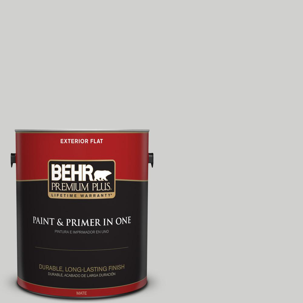 1 gal. #PPU26-15 Halation Flat Exterior Paint