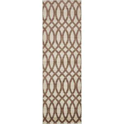 Rushmore Madison Brown 3' 0 x 9' 10 Runner Rug