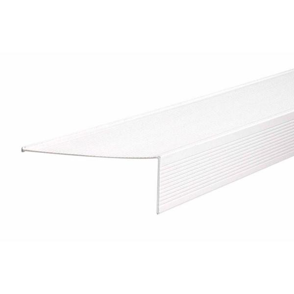 TH083 4.5 in. x 1.5 in. x 36 in. White Sill Nosing Weatherstrip