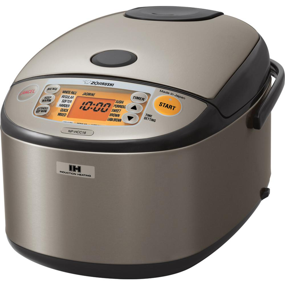 Zojirushi Non Stick Interior Rice Cooker Np Hcc18 The Home Depot