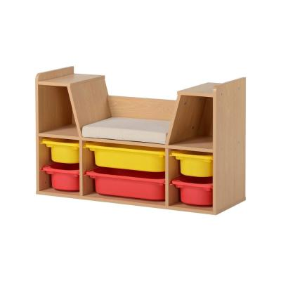 Aldo Kid's Maple Storage Bench Maple