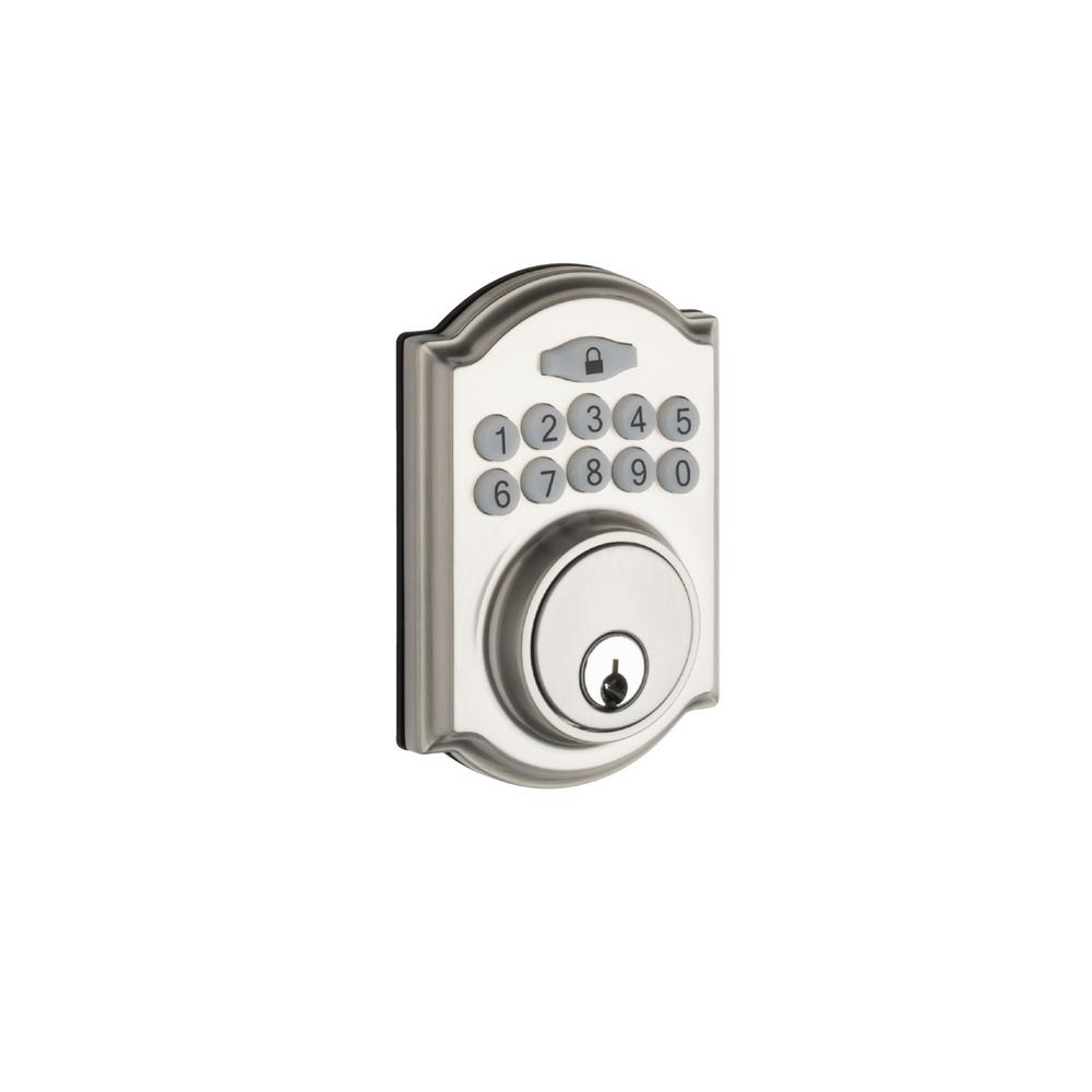 Copper Creek Heritage Electronic Keypad Satin Stainless Deadbolt