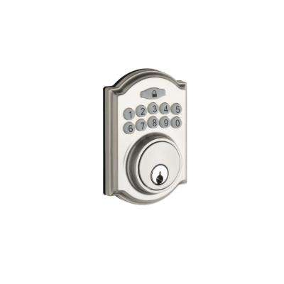 Heritage Electronic Keypad Satin Stainless Deadbolt