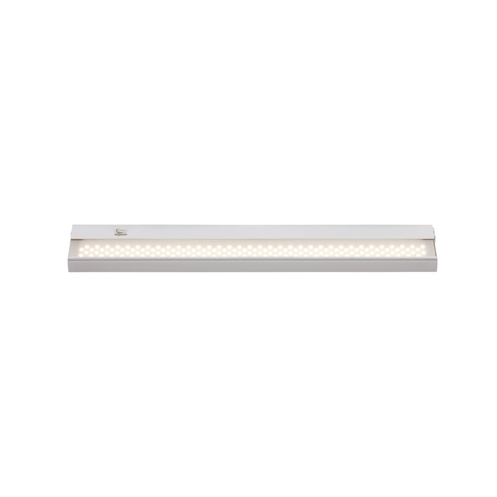 Signature 24 in. LED White Under Cabinet Light with Opal Shade