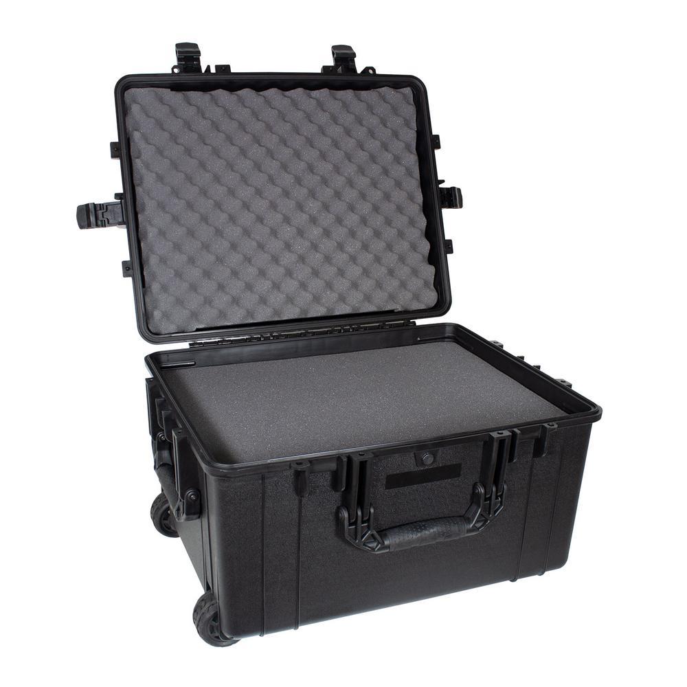 XL #286 Airtight/Watertight Case with Wheels and DIY Customizable Foam
