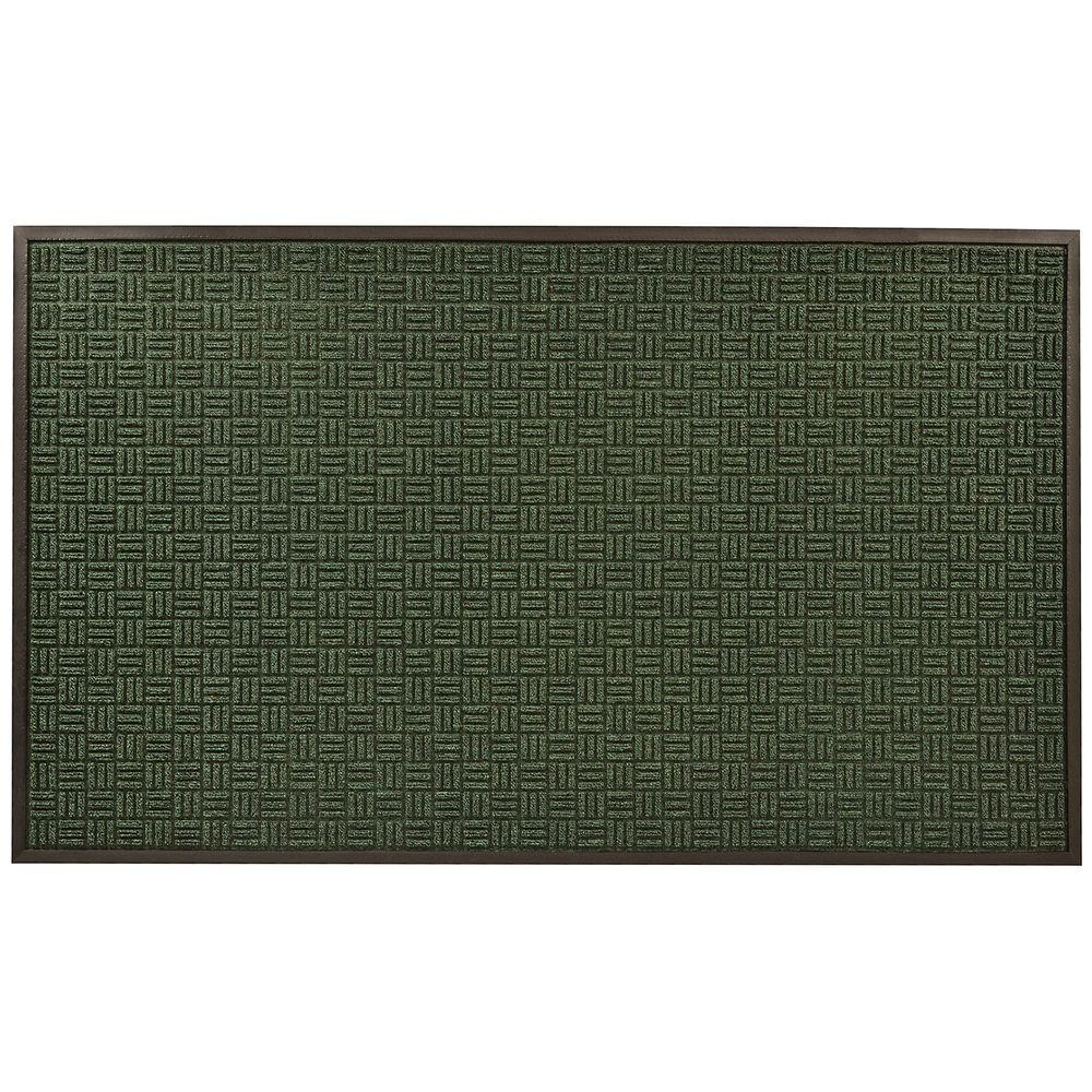 NoTrax Portrait Green 36 in. x 120 in. Rubber-Backed Entrance Mat