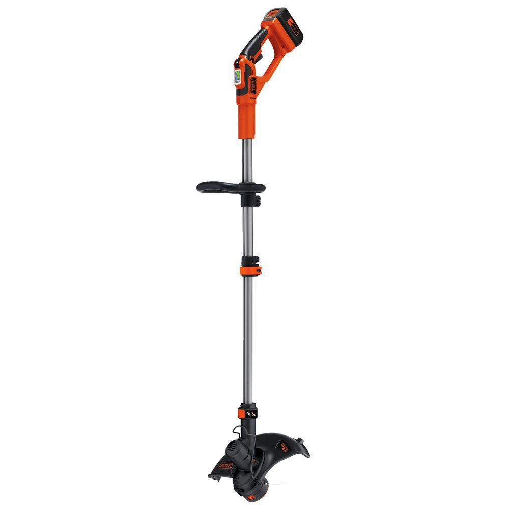 black decker string trimmers lst136 64_1000 black decker 13 in 40 volt max lithium ion cordless 2 in 1 string  at gsmx.co