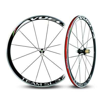 Team SL37 Handbuilt Alloy Straight Pull Clincher 11SP Road Wheelset