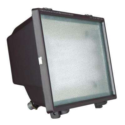 Bronze Outdoor Fluorescent Flood Fixture