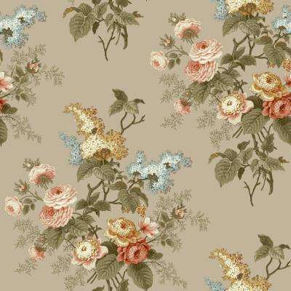 Waverly Cottage Emma's Garden Wallpaper