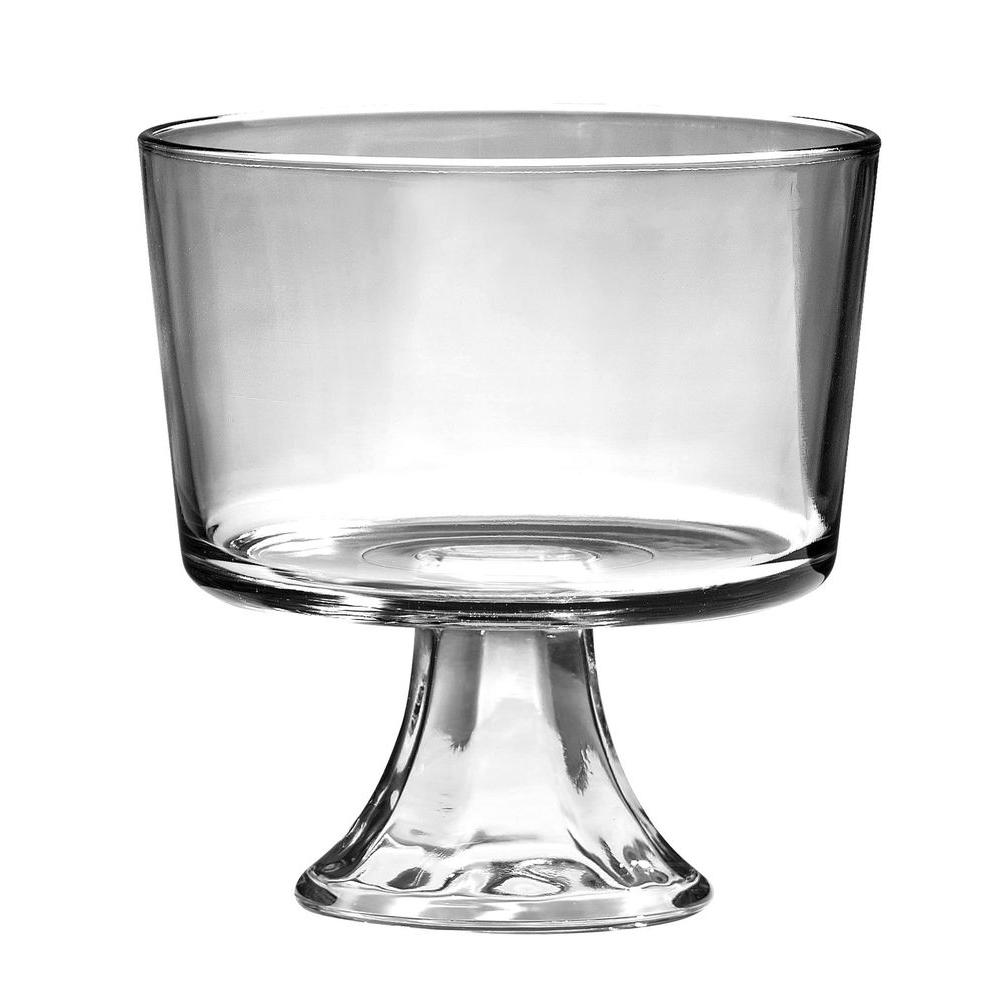 Anchor Hocking Presence Footed Trifle Gift Boxed, Clear Simply designed to make desserts, salads and trifles the centerpiece of your table, kitchen or dining room. Anchor Hocking offers a wide variety of high quality consumer glassware products that are both beautiful and functional. Anchor Glass makes a wonderful gift-buy one for yourself or as a gift. Color: Clear.