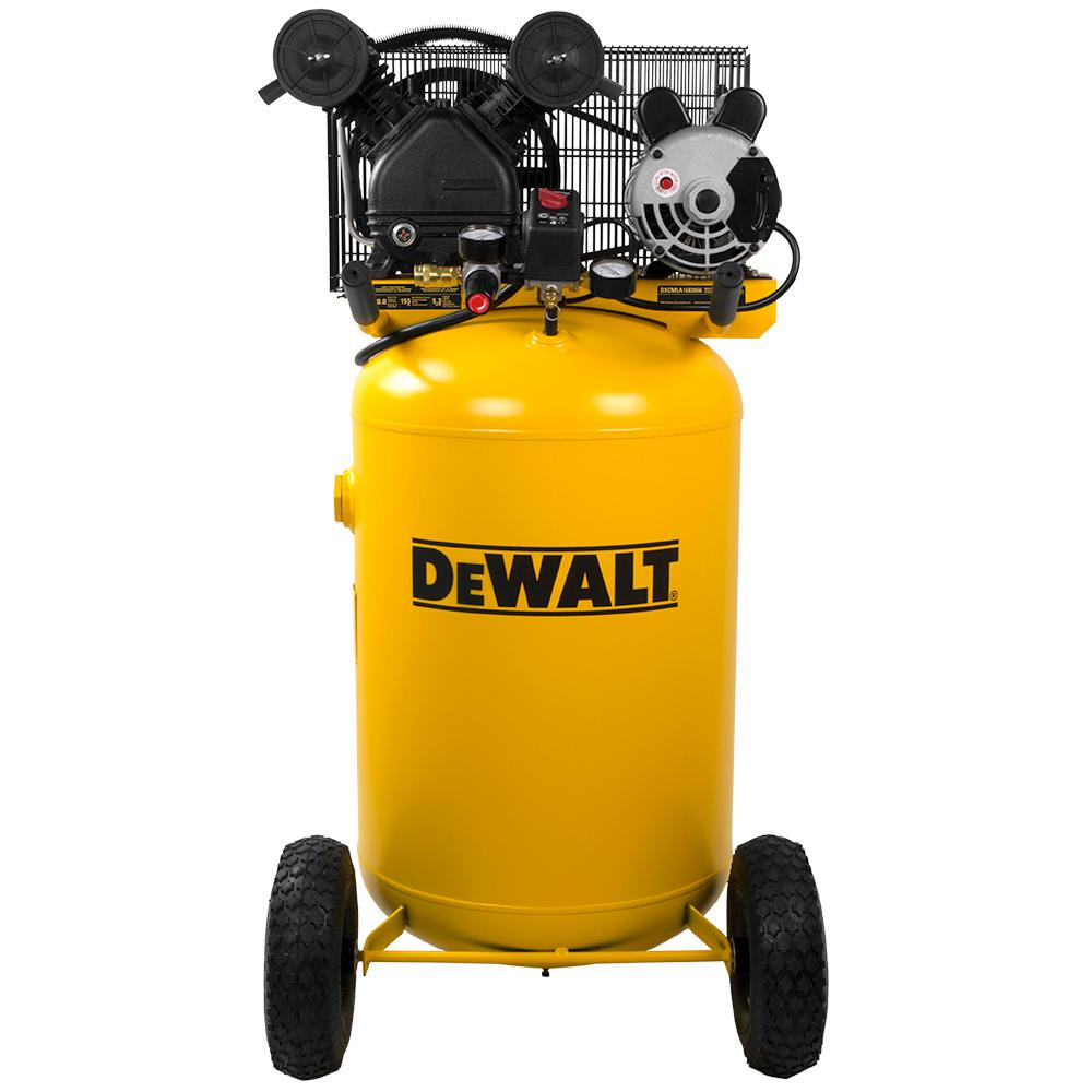 DEWALT 30 Gal. 155 PSI 1.6 HP Portable Electric Air Compressor