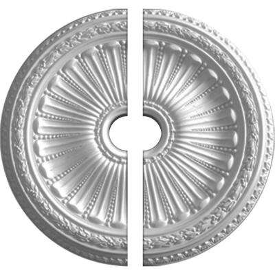 35-1/8 in. O.D. x 4-7/8 in. I.D. x 2-1/2 in. P Viceroy Ceiling Medallion (2-Piece)