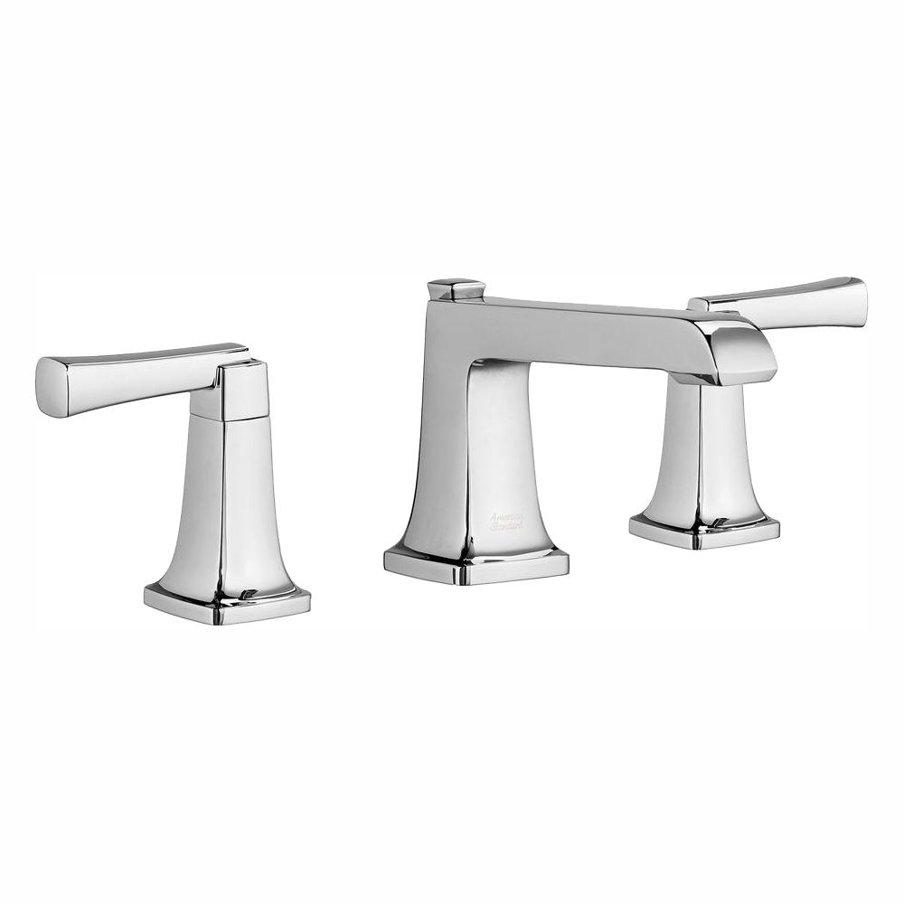 American Standard Townsend 8 In Widespread 2 Handle Bathroom Faucet In Polished Chrome 7353841 002 The Home Depot