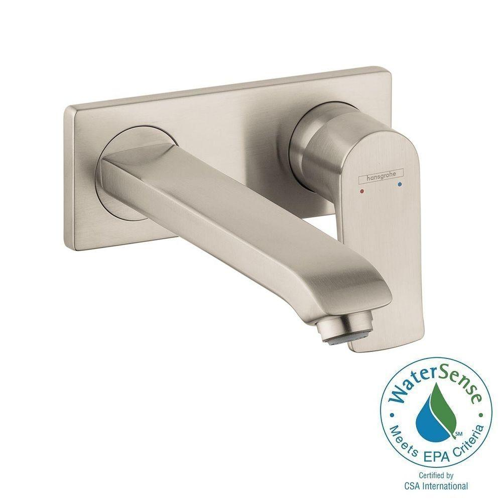 Hansgrohe Metris E Single Handle Wall Mount Bathroom