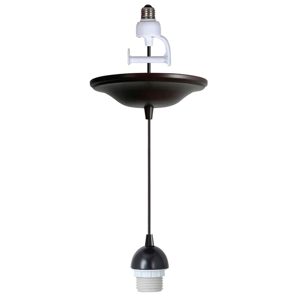 Recessed Lighting Conversion To Track : Worth home products instant pendant series light antique
