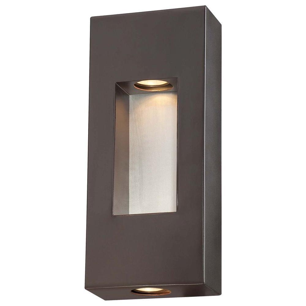 Geox 2-Light Dorian Bronze Outdoor Pocket Lantern
