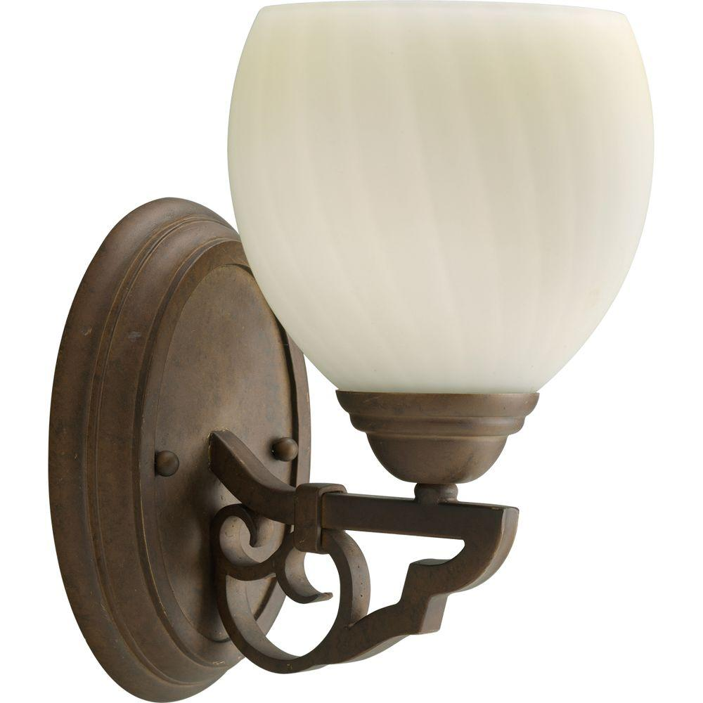 Thomasville Lighting Meeting Street Collection Roasted Java 1-light Vanity Fixture-DISCONTINUED