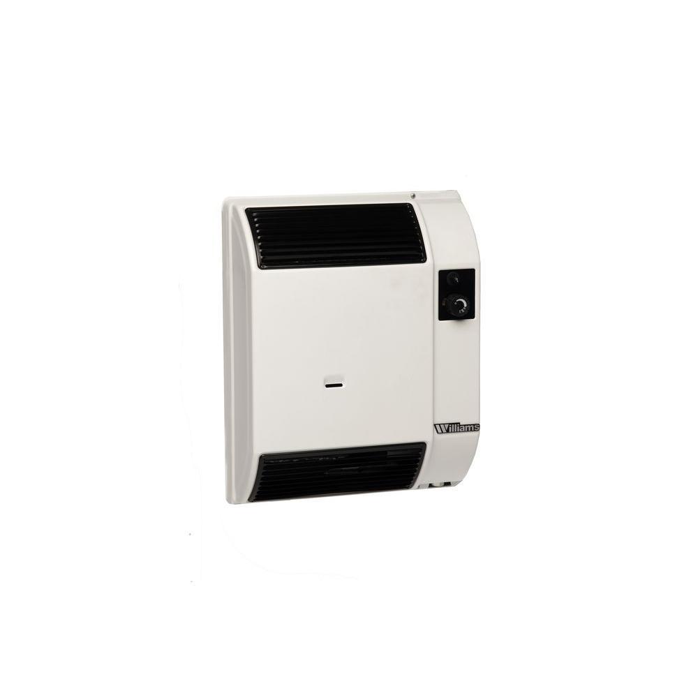 Bathroom gas heater - Williams 7 400 Btu Hr Direct Vent High Efficiency Wall Furnace Natural Gas Heater