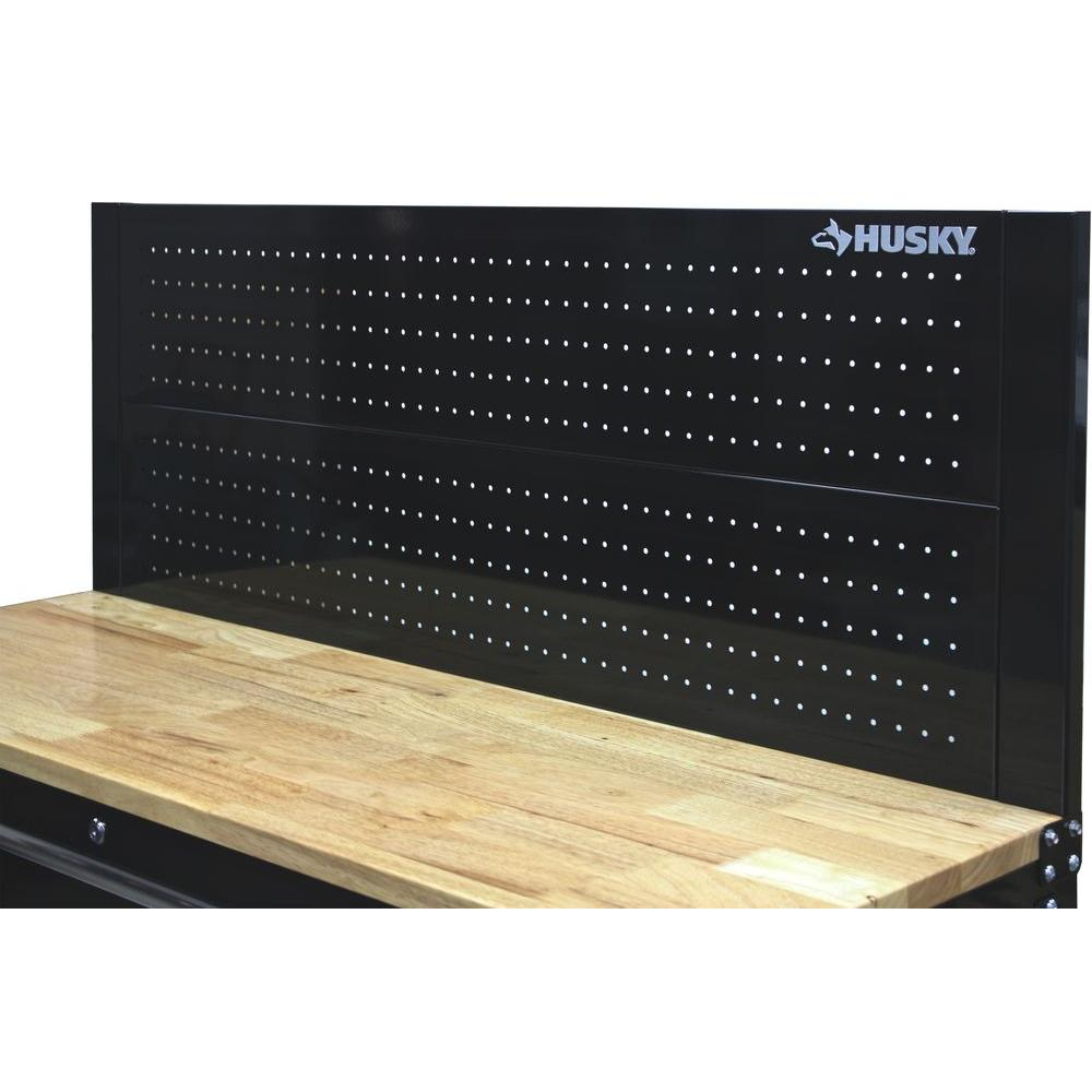 Husky Workbench Cabinet Pegboard Back Wall 52 Quot Panel Holes