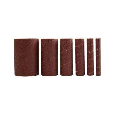 50-Grit Sleeves for Spindle Sander for RK9011 (6-Pack)