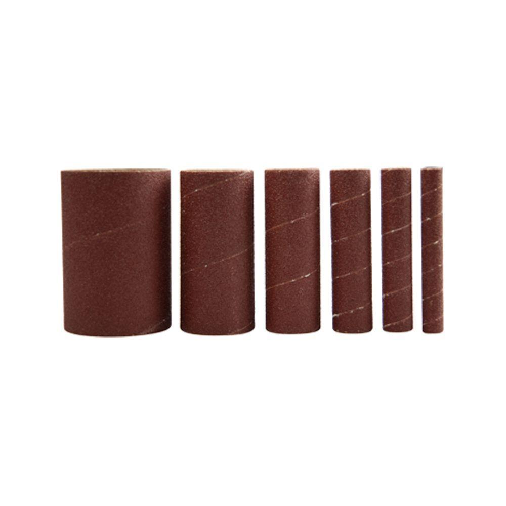 50-Grit Sleeves for Spindle Sander for RK9011 (6-Pack)