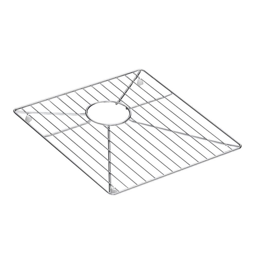 Vault Stainless Steel Bottom Sink Bowl Rack